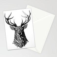 Ornate Buck Stationery Cards