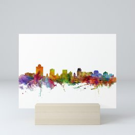 Salt Lake City Skyline Mini Art Print