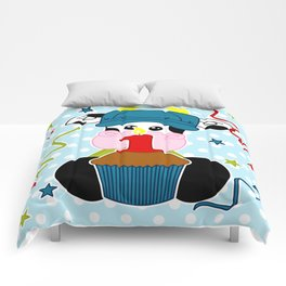 Cow 1 year Comforters