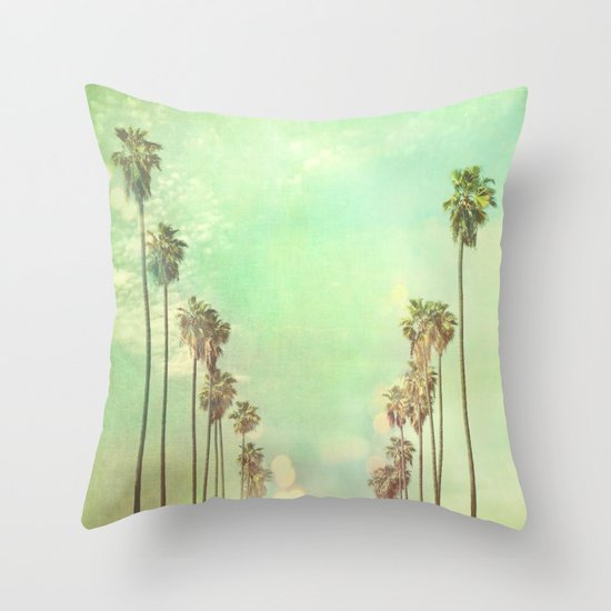 Los Angeles. La La Land photograph Throw Pillow