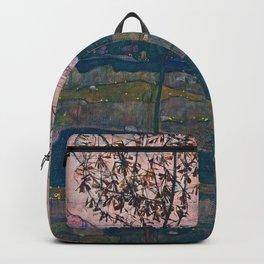 Egon Schiele - Setting Sun Backpack