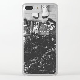 Christmas Love Clear iPhone Case