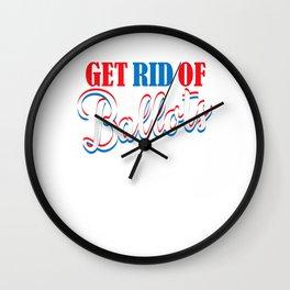 Get Rid of The Ballots Republican Election Wall Clock