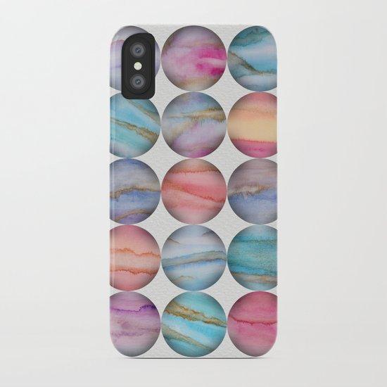 Marble Bubbles iPhone Case