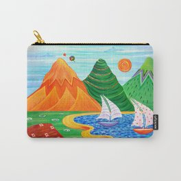 Paradise Beach Carry-All Pouch