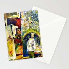 The Painter's Studio Stationery Cards