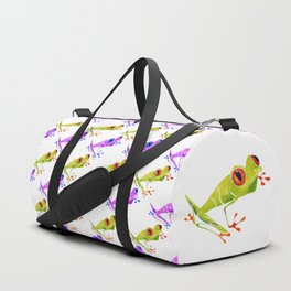 Red Eyed Tree Frog Duffle Bag