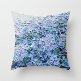 Nantucket Blues Throw Pillow