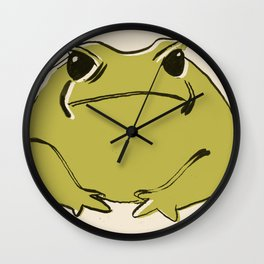 Cane Toad Wall Clock