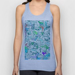 Kamasutra LOVE - Sea Blue Unisex Tank Top