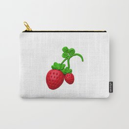 Sweet red strawberry with plasticine Carry-All Pouch