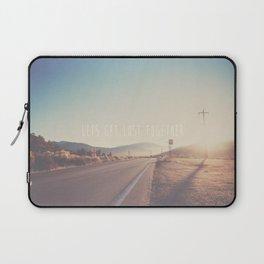 lets get lost together ...  Laptop Sleeve