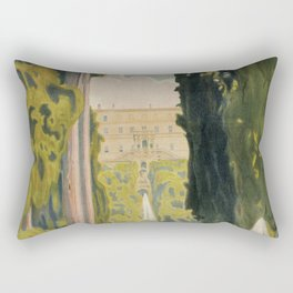 Tivoli Lazio Rome travel ad Rectangular Pillow