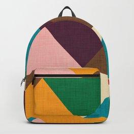 Kilim Chevron Backpack