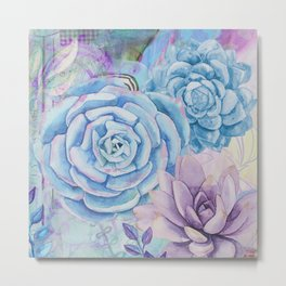 Lety's Lovely Garden Metal Print