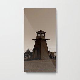 Cabot Beach Lighthouse Metal Print