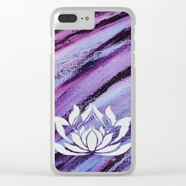 Wild Compassion Clear iPhone Case