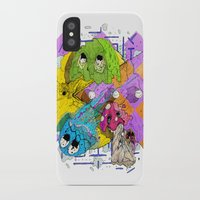 pacman iPhone & iPod Cases featuring Pacman by Jesús L. Yapor