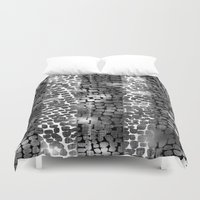 animal crew Duvet Covers featuring ANIMAL by  Ray Athi