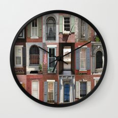 USA - Philadelphia - Windows Wall Clock