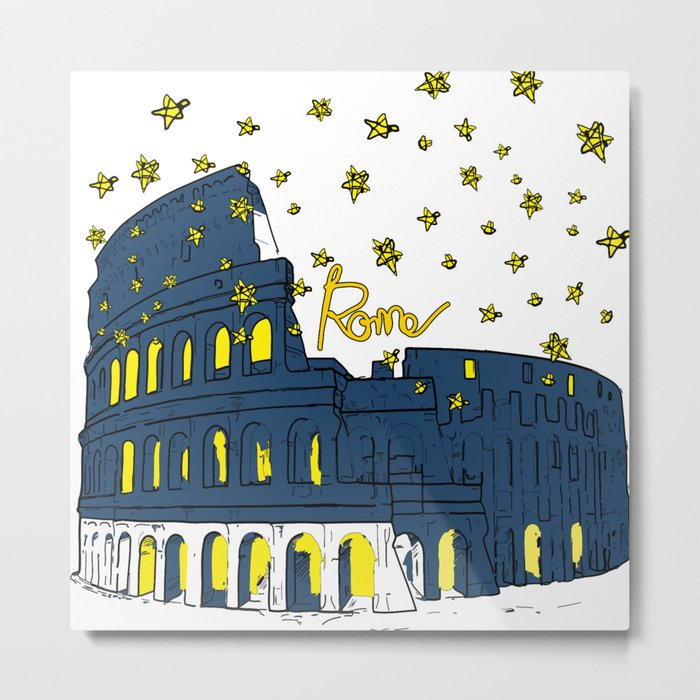 Rome Italy Metal Print