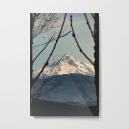 Mountain Window - 94/365  Nature Photography Metal Print