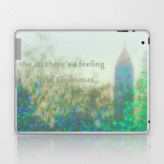 In The Air There's A Feeling Laptop & iPad Skin