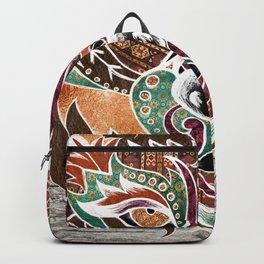 Grr! (Bohemian Bear) Backpack