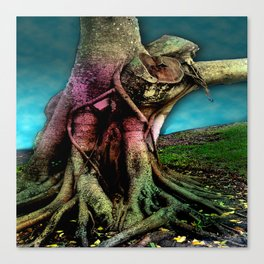 Arms reaching out Canvas Print