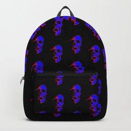 Skull - Blue Backpack