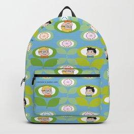 mabo & jimmy garden - blue Backpack