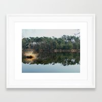 illusion Framed Art Prints featuring Illusion by Art de L'aube