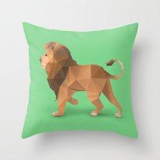 Lion. Throw Pillow