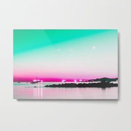 The Pink Hour Metal Print