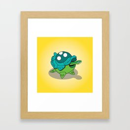 Turtle Bob Framed Art Print