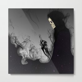 Death Galaxy Metal Print