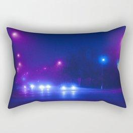 Synthwave Streets (1) Rectangular Pillow