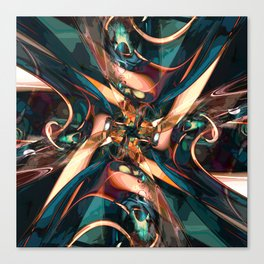 Abstract Colorful Shapes Canvas Print