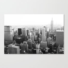 The Top of the World Canvas Print