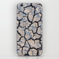 cracked iPhone & iPod Skins featuring Cracked by F. C. Brooks