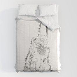 New Hampshire Mermaid Comforters