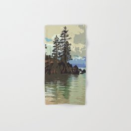 Lake Tahoe Hand & Bath Towel
