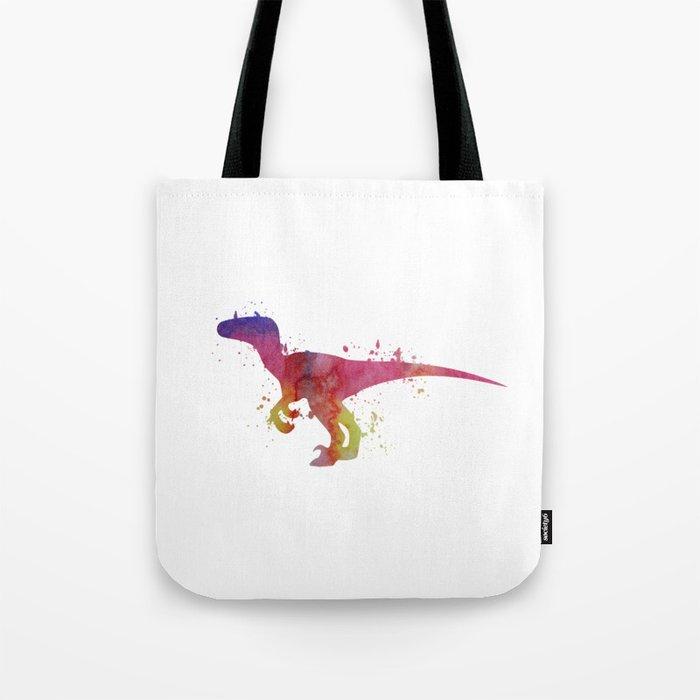 Velociraptor Tote Bag