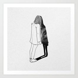 Reality. Art Print