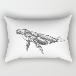 Whale of a Time Rectangular Pillow