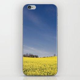 Brest Fields iPhone Skin