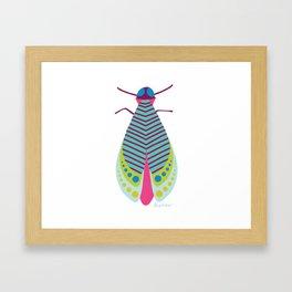 Jazzy Moth Framed Art Print