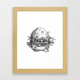 The Nasty Patty Framed Art Print