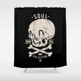 Soul Collector Shower Curtain