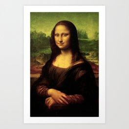 Mona Lisa Painting Art Print